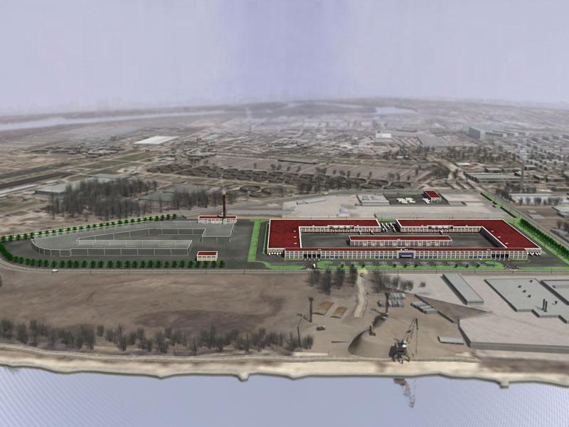 Крупный оптовый промышленный продовольственный комплекс